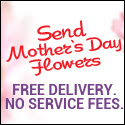 Zoomflower.com. Free Mother's Day Flower Delivery anywhere in USA and Canada.