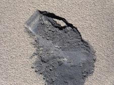 'bite mark' where NASA's Curiosity rover scooped up Martian soil