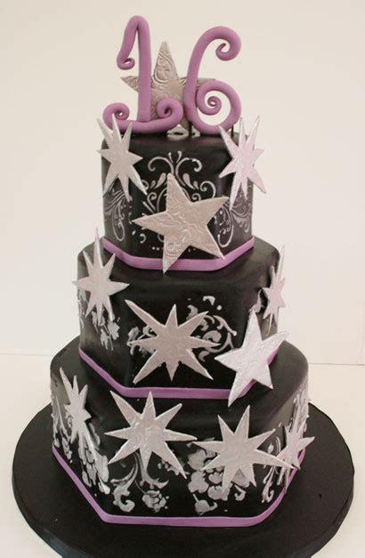 Sweet Sixteen Cake New Jersey   Elegant Stars Custom Cakes