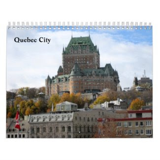 Scenes from Quebec City Wall Calendar