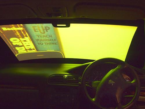 back seat of a peugeot