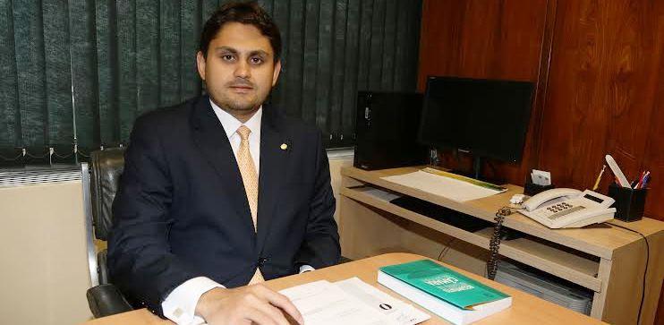 Deputado federal  Juscelino Filho.