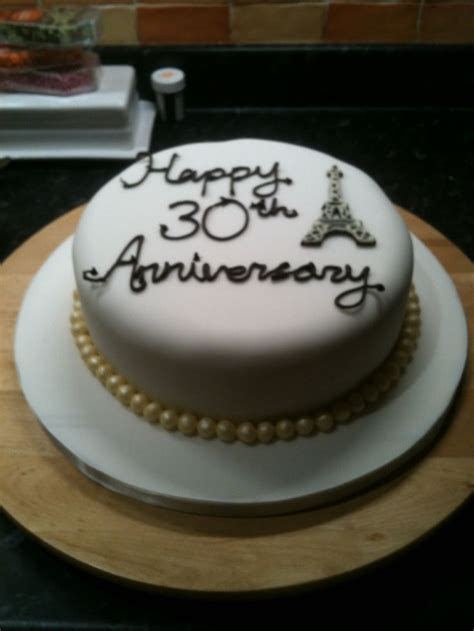 17 Best images about 30th Wedding Anniversary Cakes on