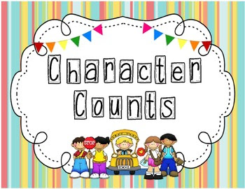 Character Moral Focus Posters