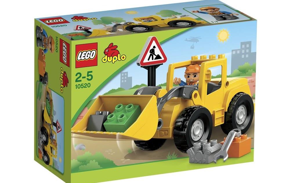 Rezension lego duplo 10520 großer frontlader das neue