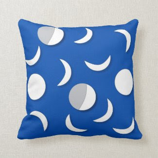 Moon Pattern Pillow