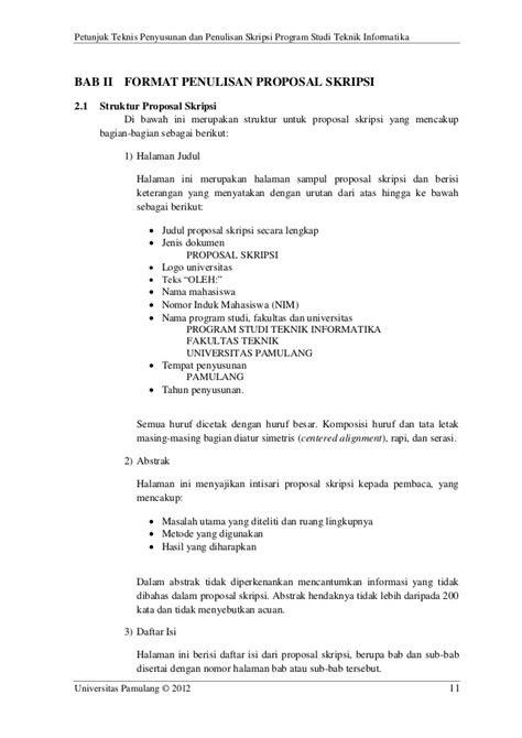 Halaman Judul Proposal Skripsi Pejuang Skripsi