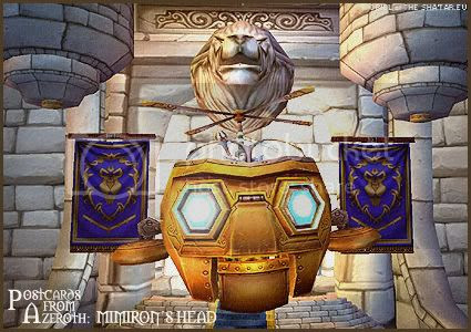 Postcards of Azeroth: Mimiron's Head, by Rioriel of theshatar.eu