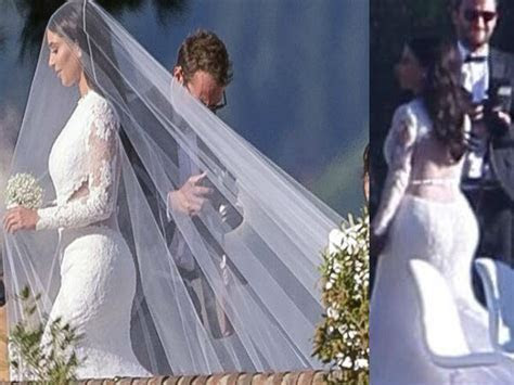 Kim Kardarshian & Kanye West Wedding: Pictures   Boldsky.com
