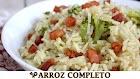 Receita - Arroz com brócolis e bacon - receitas que amo