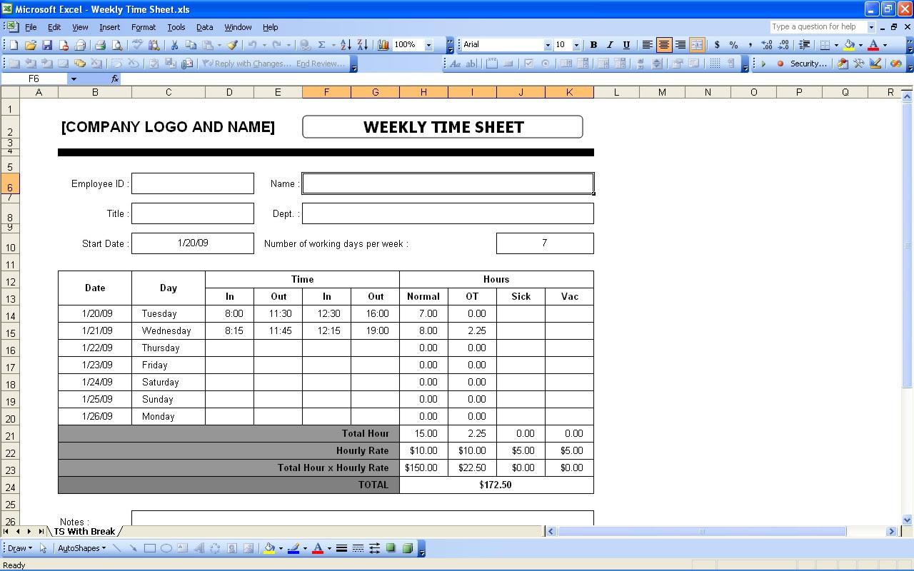Mileage Log | Excel Templates