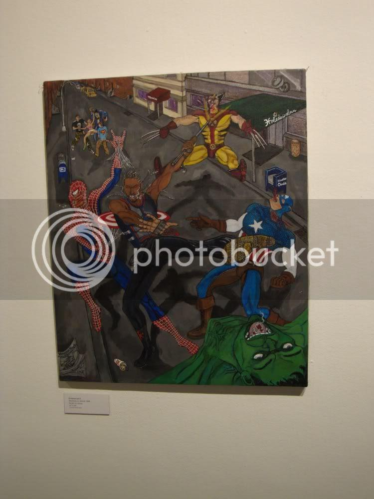 Blacksheep vs. Marvel