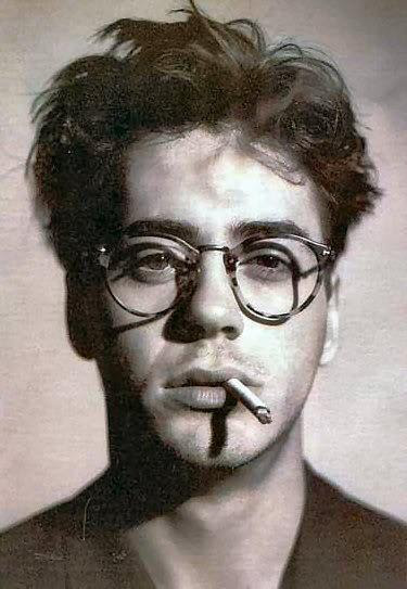 a young Robert Downey Jr.