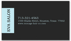 BCS-1076 - salon business card
