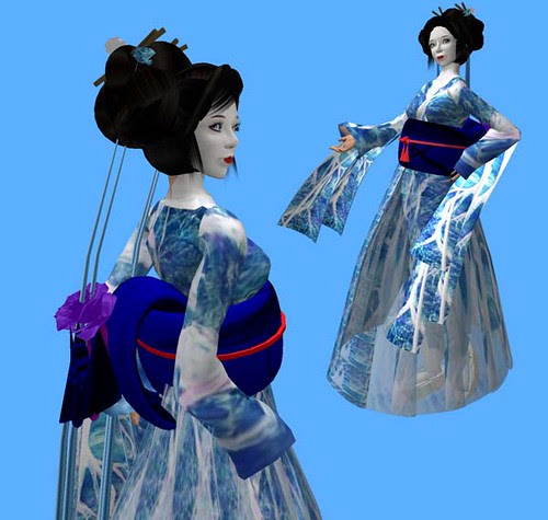 Me in a kimono