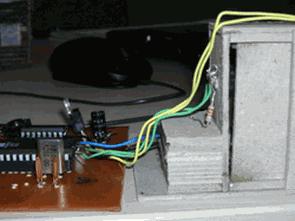 Điều khiển cửa với động cơ AT89C51RD2 và L293D DC