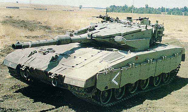 Israeli Army Merkava Mk.3 Main Battle Tank