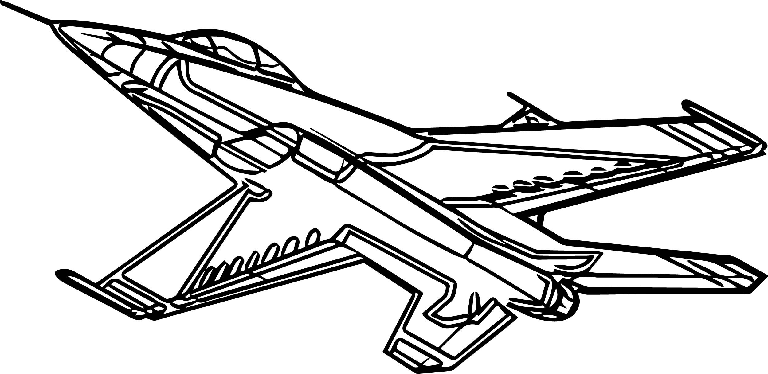 - F16 Airplane Coloring Page Wecoloringpage.com - Coloring Pages