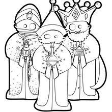 Reyes Magos Dibujos Para Colorear Manualidades Para Ninos Dibujo