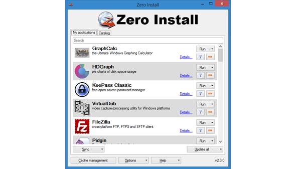 يسمح بتشغيل البرامج مباشرةً دون الحاجة إلى تثبيتها أساساً على الحاسب.