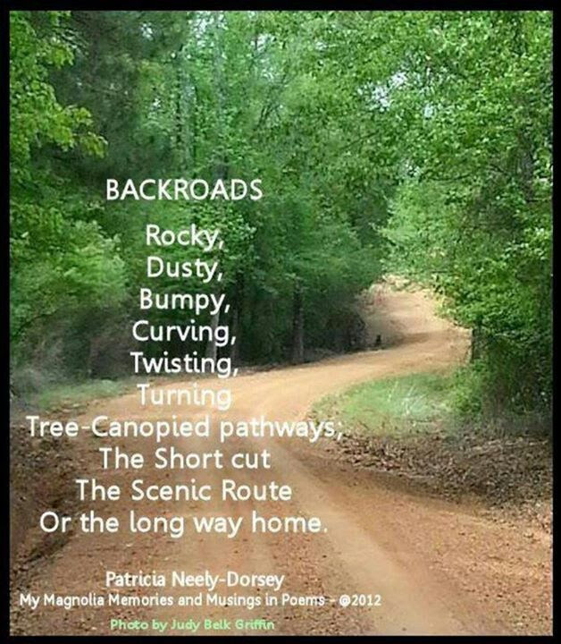 Inspirational Dirt Road Quotes