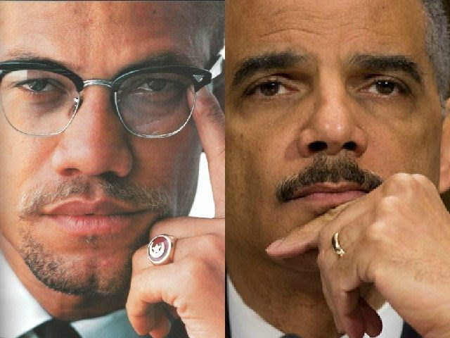 Eric Holder, Malcolm X