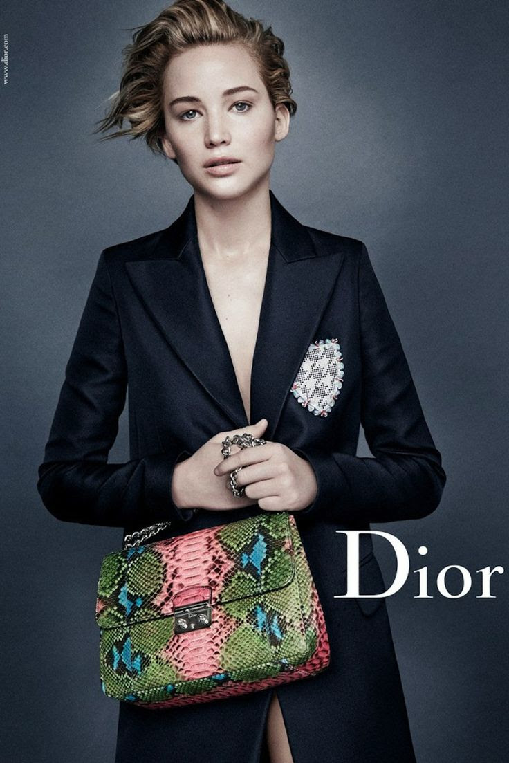 Jennifer Lawrence for Miss Dior Spring 2014
