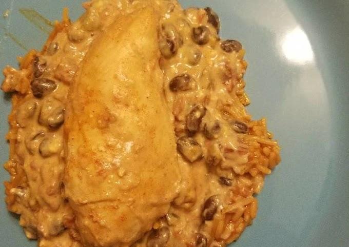 Steps to Make Speedy Crockpot fiesta chicken
