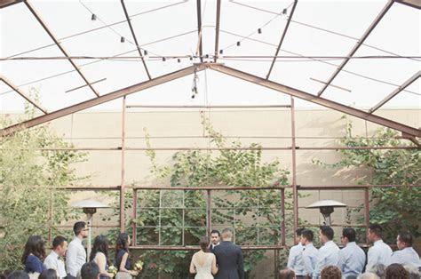 Los Angeles Industrial Greenhouse Wedding: Tawny   Irv