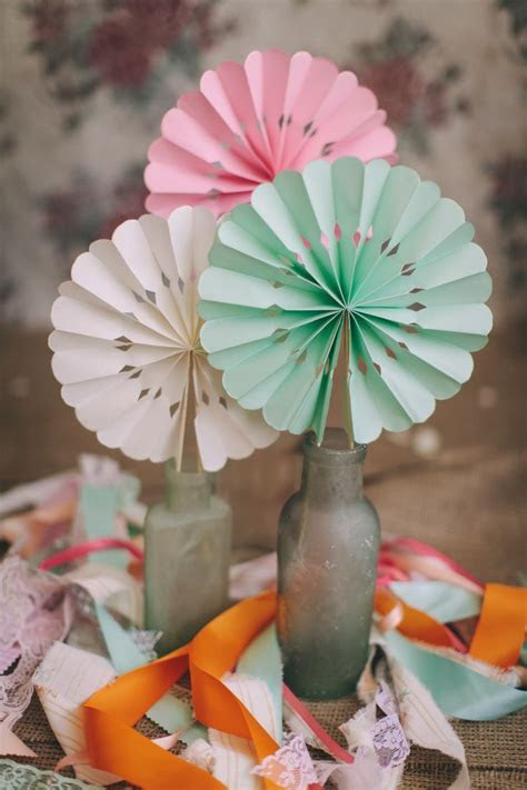 25  best ideas about Paper Fan Decorations on Pinterest