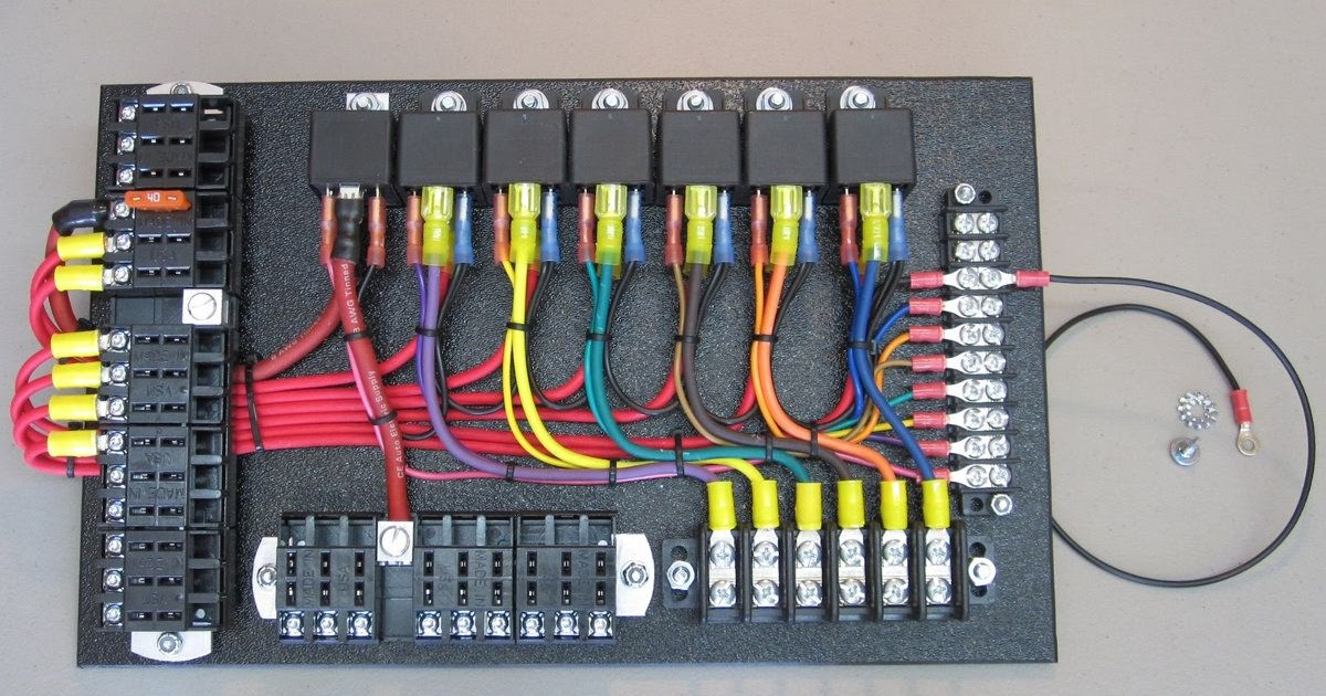 Panels Of Relay Wiring