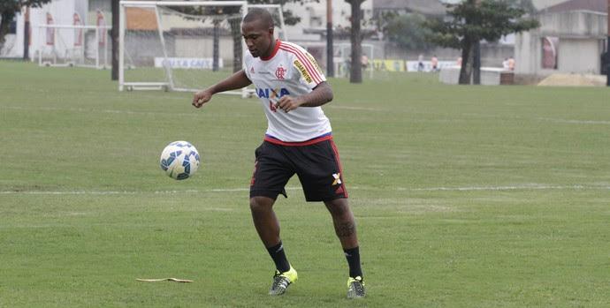Samir treino do Flamengo no Ninho do Urubu (Foto: Gilvan de Souza / Flamengo)