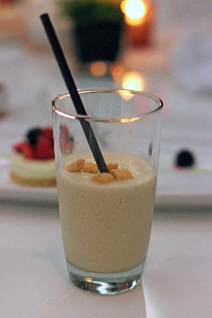Cap'n Crunch White Russian milkshake