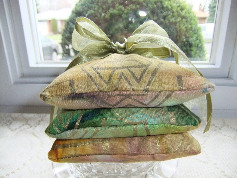 Tie Dye Lavender Sachets - Set of Three (3)