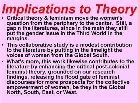 postcolonial feminism