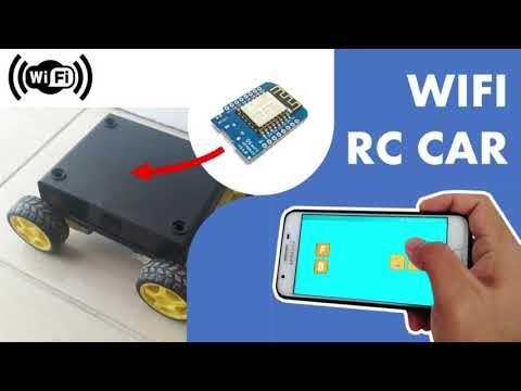 Wifi RC Car dengan Wemos D1 Mini dan RemoteXY