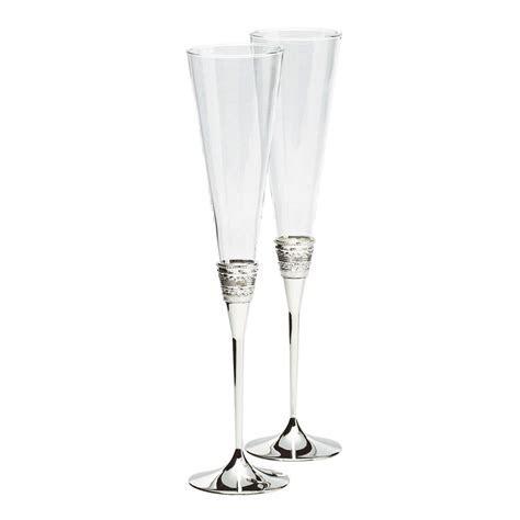 Vera Wang Wedgwood With Love Silver Giftware Toasting