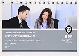 CII Certificate in Insurance IF1 Insurance, Legal and ...