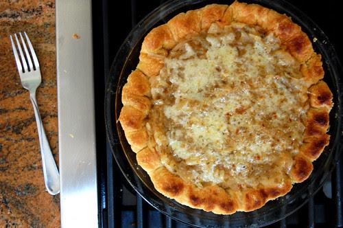 improvised tart