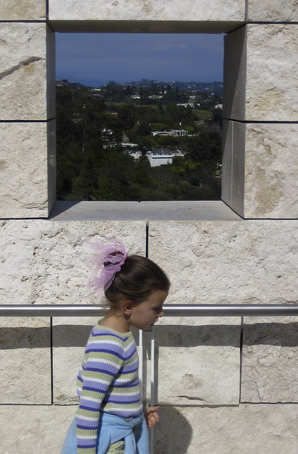 Getty Window Triptych (3)