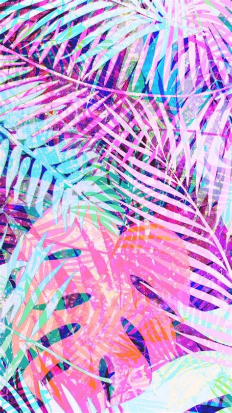 colorful tropical palms    palms backgrounds