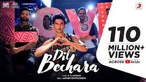 Dil Bechara Lyrics - A R Rahman ~ LYRICGROOVE