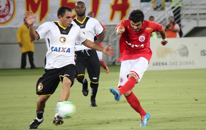 América-RN x Globo - final (Foto: Fabiano de Oliveira)