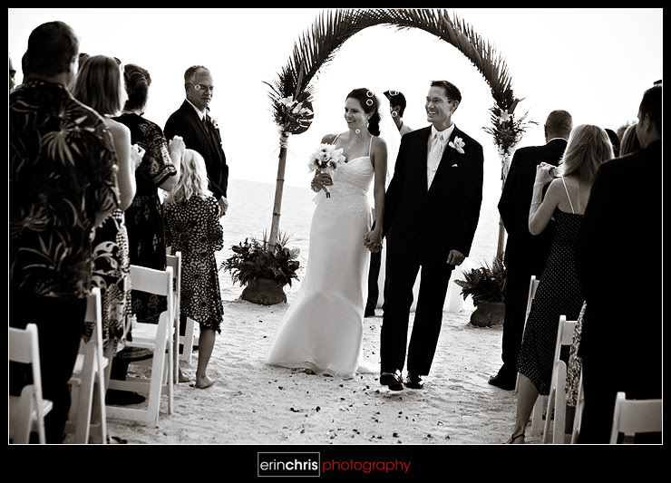Florida beach wedding on St. Pete Beach