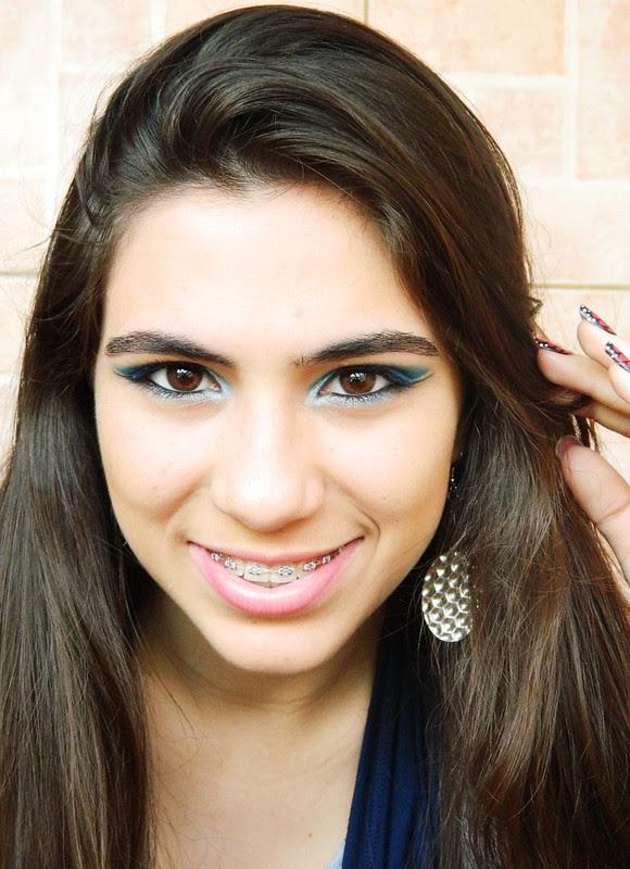 juliana leite make up facebook azul com delineado duplo 038