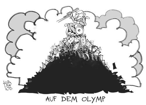 Cartoon: Steuergeld-Olymp (medium) by Kostas Koufogiorgos tagged schäuble,olymp,zeus,steuergeld,berg,griechenland,geld,wirtschaft,karikatur,koufogiorgos,schäuble,olymp,zeus,steuergeld,berg,griechenland,geld,wirtschaft,karikatur,koufogiorgos