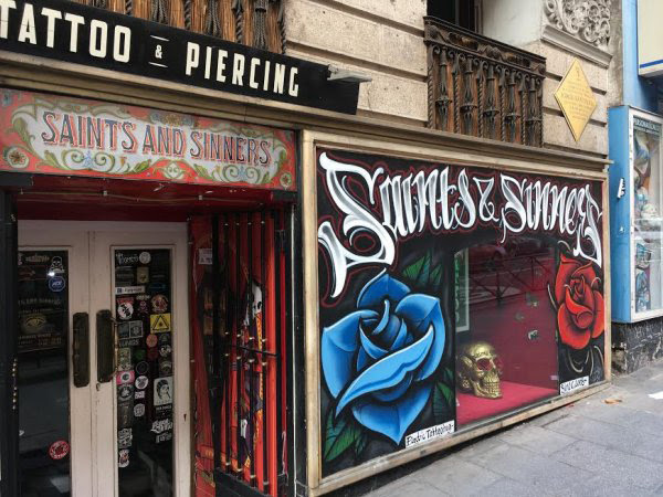 Tatuajes En Madrid Saints Sinners Estudio De Tattoos Madrid