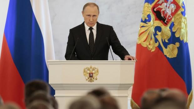 Putin accuses Turkey of supporting terrorism