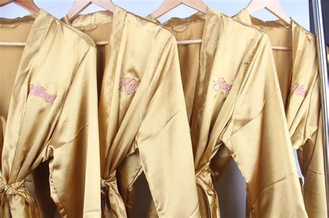 Bridesmaid Robes, Bridal Party Robes, Personalized
