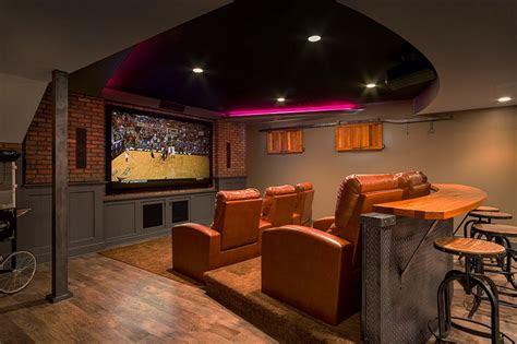 transform  basement   home theatre